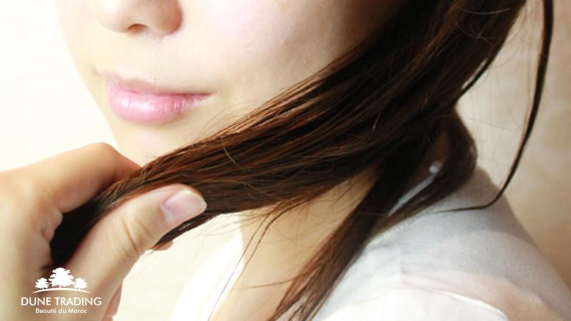 「髪・頭皮」にアルガンオイル